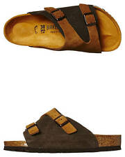 New Birkenstock Women's Zurich Sandal Leather Shoes Black
