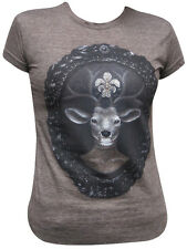 Womens Dear Prudence by J Larkin T-Shirt Deer Antlers Victorian Steampunk Tee