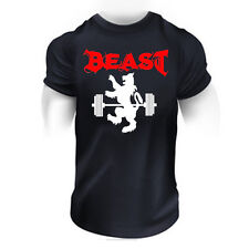 MMA bodybuilding UFC Cage Fighting Short Sleeve T Shirt Top Training sport 12