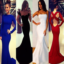 Various Women Bandage Mermaid Prom Ball Cocktail Party Evening Formal Gown Dress