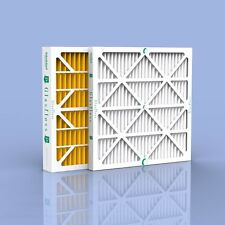 "GlasFloss 4"" High Quality Air Furnace Filters-CASE - MERV 8 + MERV 11, FREE SHIP"