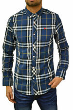 Mish Mash shirt men designer fitted checked going out party stylish check top