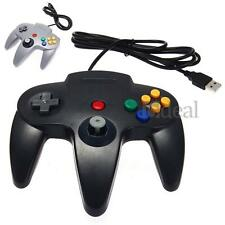 USB Wired Classic Controller Pad Gamepad for Windows Mac PC Computer N64