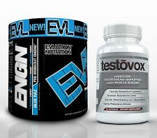 ENGN Pre-Workout & TESTOVOX - The #1 HARDCORE Muscle Gaining Bodybuilding Combo