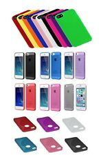 Slim TPU Solid Silicone Gel Rubber Soft Skin Case Cover For iPhone 4/4S