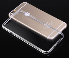 """Crystal Clear Transparent Soft Silicon 0.3mm TPU Case for iPhone 6 4.7"""" Cover"""