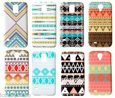 Phone Case Aztec Design for Samsung Galaxy S5 S4 Tribal Print Cover Hard Plastic
