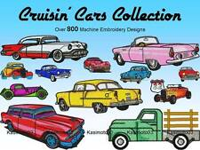 800+ Classic Cars Embroidery Machine Designs DST SEW HUS JEF VIP VP3 XXX EXP PES