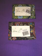 Vera Bradley LUGGAGE TAG RETIRED CAMBRIDGE OR KENSINGTON NWT