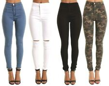 High Waist Ripped Jeans For Women - Jon Jean