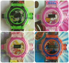 Kids Digital Projector Watch Ben10 - Hello Kitty - Spider Man - Princess