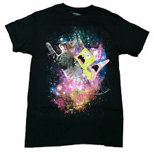 Spongebob Squarepants Patrick Kitty Cat Licensed Graphic T-Shirt New with Tags