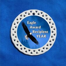 Eagle Award Recipient Porcelain Gift 3 Formats Soaring Blue Scouts Scout Boy