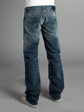 NEW DIESEL LARKEE 8ZT REGULAR FIT RELAXED STRAIGHT LEG JEANS $250 NWT ITALY