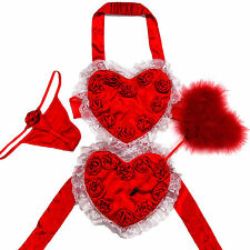 Victoria's Secret Valentine Day Heart Costume Sexy Little Things Halloween New