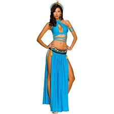 Playboy Cleopatra Egyptian Harem Girl Fancy Dress Sexy Halloween Adult Costume
