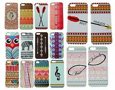 Cute Luxury Aztec Pattern Cover for iPhone 4s 4 Case Owl Elephant Best Friends