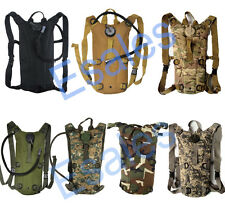 Army 3L Hydration Water Backpack Bladder Bag Water Container for Hiking Cycling