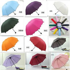 Fashion New Colorful Anti-UV Parasol Flower Folding Sun/Rain Windproof Umbrella