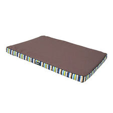 """New Striped Dog Bed Cat Puppy Kennel Crate Cozy Soft 23""""31""""39"""" Soft Pad Cushion"""