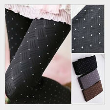 Sexy Womens Stockings Pantyhose Tights Polka Dots Autumn Winter Warm Pantyhose