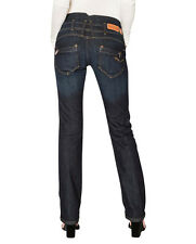 Freeman T. Porter Amelie stretch Denim eclipse straight Women's Jeans Trousers