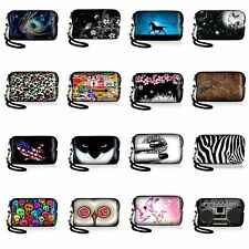 Colorful Digital Camera Case Bag Pouch Cover Sleeve w/ Strap For Samsung WB350F