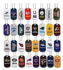 (1) 2014 NFL DOG TAG Football 32 teams to choose from!! OFFICIAL NFL!! NEW!!!