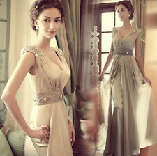 2014 New Chiffon Bridesmaid Evening Formal Party Ball Gown Prom Dress