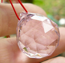 Sun Catcher Faceted Lead Crystal Varied colors Glittering Prism Crystal Ball