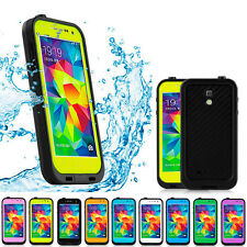 Waterproof Shockproof Dirt Snow Proof Case Cover For Samsung Galaxy S4 S5 Phones