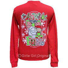 """Girlie Girl Originals """"Oh What Fun!"""" Christmas Unisex Fit T-Shirt"""