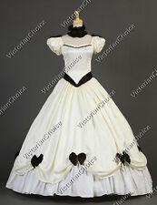 Southern Belle Victorian Weddding Bridal Dress Period Gown Reenactment Wear 323
