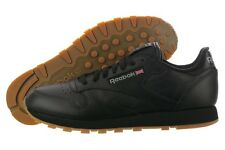 [49798] REEBOK CLASSIC LEATHER RE BLACK/GUM MEN'S SIZE 8 TO 13 NIB