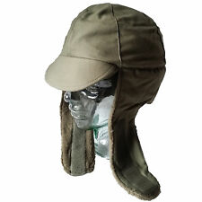 NEW Dutch Army Cold Weather Trapper Hat Winter Cap Ushanka Small to XL Vintage