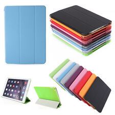 Magnetic Slim Leather Smart Stand Flip Cover Hard Back Case For Apple iPad Air 2