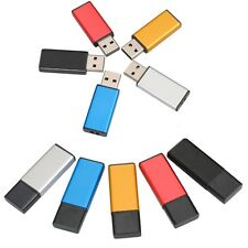 32GB 64GB 128GB Metallo Bar USB 2.0 CHIAVETTA PEN DRIVE PENNA FLASH MEMORY STICK