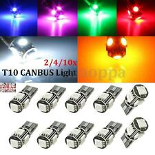 2/4/10x T10 501 194 168 W5W 5 SMD LED ERROR FREE CANBUS Car Side Light Bulb Lamp
