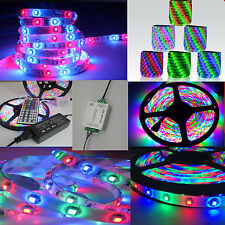5-20M RGB 3528 waterproof 300 LED Light Strip Flexible+44key IR Remote+12V power
