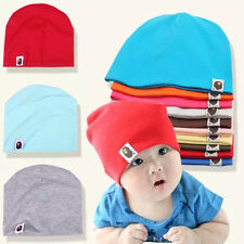 Unisex Cotton Beanie Hat For New Born Baby Boy Girl Soft Toddler Cap Kid Warm