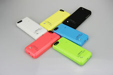 Portable External Battery Case Backup Power Bank Pack for iPhone 5S 5 5C 2200mAh