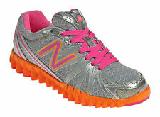 New Balance Girls Youth NEW K2750OPY Silver / Orange Shoes Sneakers Size 13