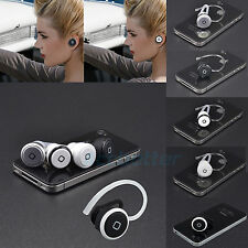 New Smallest Stereo Music+Phone Calls Hands free Mini Bluetooth Earphone Headset