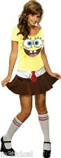 Adult Womens Spongebabe Sexy Sponge Babe Spongebob Cartoon Dress Costume NEW