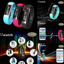 U9 Bluetooth Smart Wrist Watch Waterproof Sports Bracelet for Cell Phone #F8s