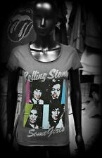 AMPLIFIED Official Uni-Sex Tee Shirt ROLLING STONES SOME GIRLS