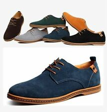 Fall Winter Fashion European Style Mens Leather Shoes Warm Lace-Up Casual Shoes