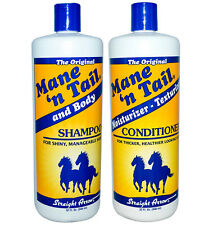 The Original Mane 'n Tail and Body Shampoo & Conditioner Set of 2-12oz or 32oz