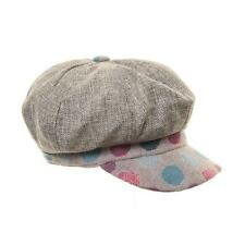 Ladies Womens Bakerboy Cap Hat 2 Colours One Size Free P&P