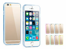 TPU Rubber Gel Ultra Thin Transparent Protective Case Cover for iPhone 6 Plus